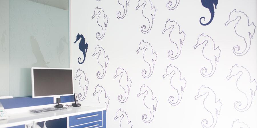 Indiguos hochwertige Wandgestaltung Beschriftung Malerarbeiten
